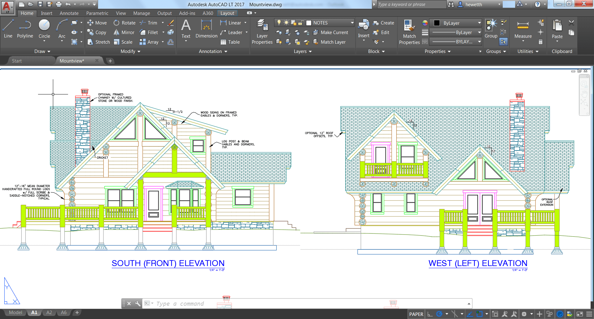 autocad-lt-2017-screenshot-house